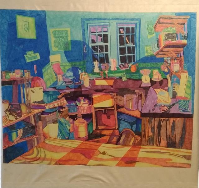 , 'Dutch Kitchen,' 2018, Galerija VARTAI