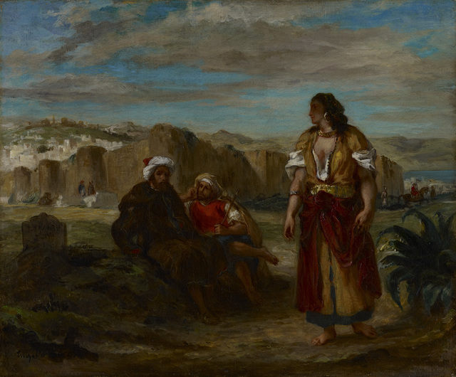 , 'View of Tangier with Figures,' 1853, The National Gallery, London