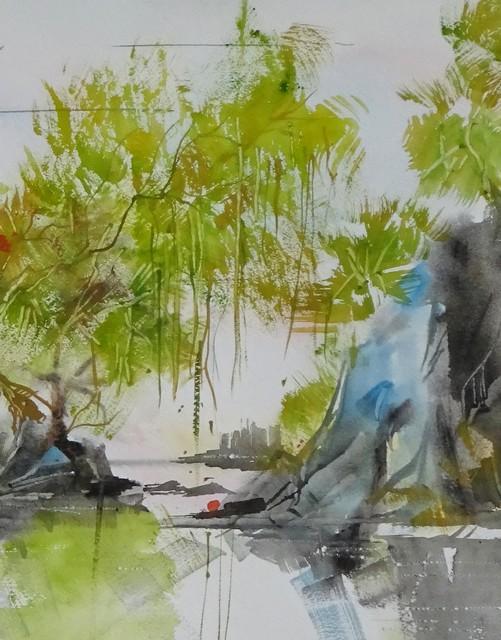 , 'Willow Lake,' 2017, J. Pepin Art Gallery