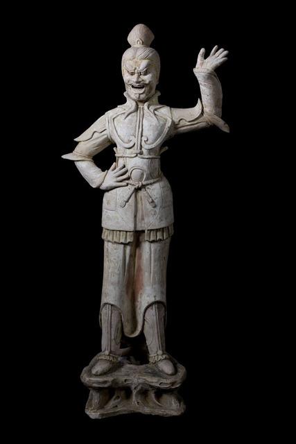 , 'Imposing Terracota Lokapala Figure - Tang Dynasty,' 618-907, Muzeion Gallery