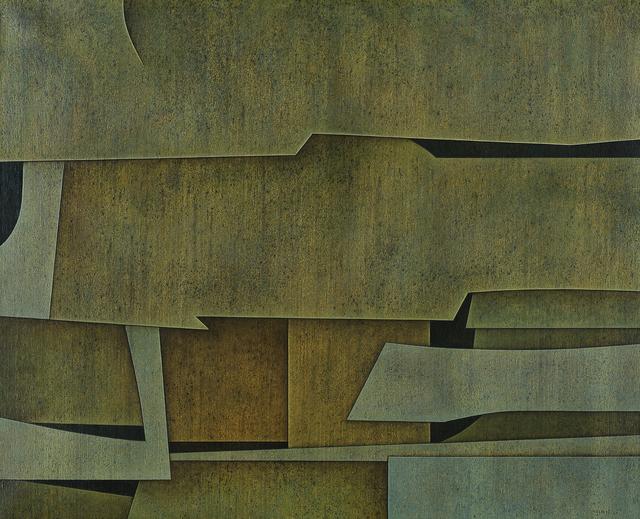 Gunther Gerzso, 'Mansión del agua [Water Mansion]', 1965, Blanton Museum of Art