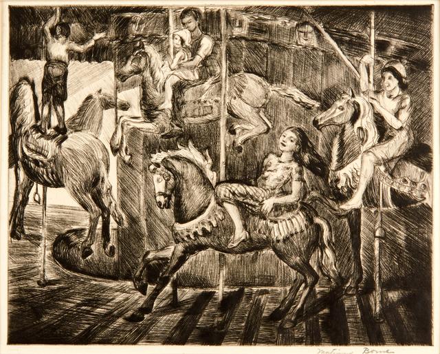 Mortimer Borne, 'Carousel', Rago