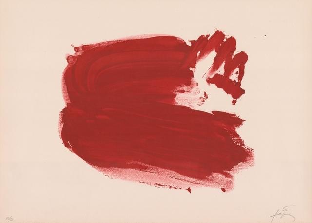 Antoni Tàpies, 'Clau del Foc IV', 1970-1980, ARTEDIO