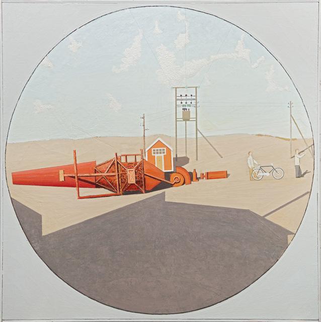 , 'Rød figur i solen,' 1995, OSL Contemporary