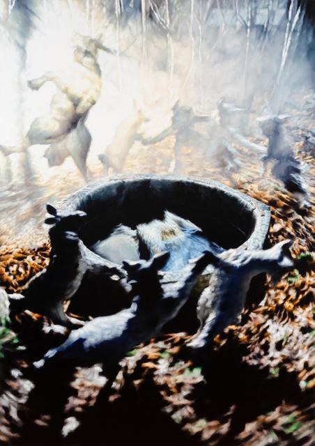 """, '""""Der Wolf und die sieben jungen Geisslein (241L)""""  (El lobo y las Siete Cabritas),' 2019, Galería Juana de Aizpuru"""