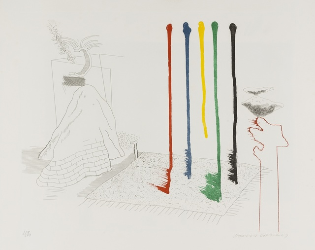 David Hockney, 'I Say They Are (from The Blue Guitar) (MCA Tokyo 193)', 1976-77, Forum Auctions