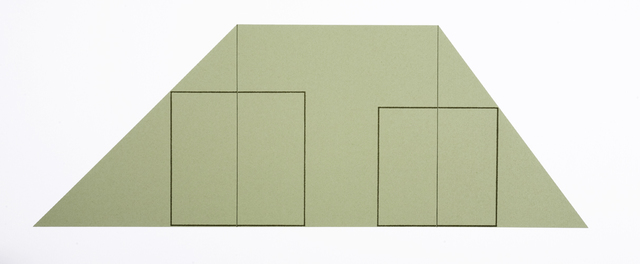Robert Mangold, 'UNTITLED', 1992, 5 + 5 Gallery