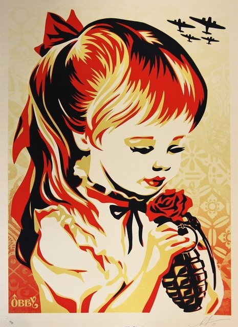 Shepard Fairey, 'War by Numbers', 2019, AYNAC Gallery