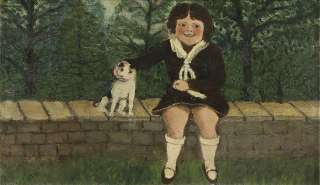 , 'Child Seated on Wall,' , Galerie St. Etienne