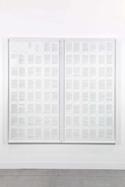 , 'Trascrizioni, Della critica I e II,' 1975, P420