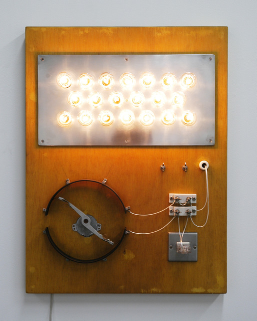 , 'Point of Contact for 20 incandescent lamps,' 2007, Tezukayama Gallery