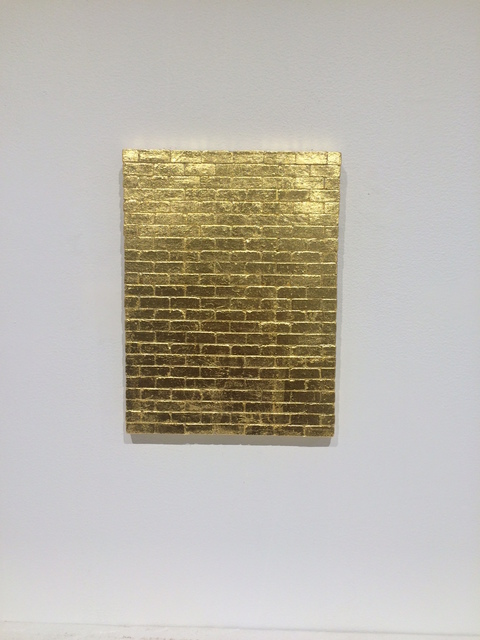 , 'Golden Wall,' 2015, Leila Heller Gallery