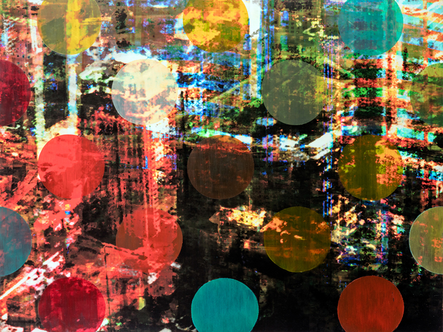 , 'Pistes et Points - Point 1,' 2015, Newzones