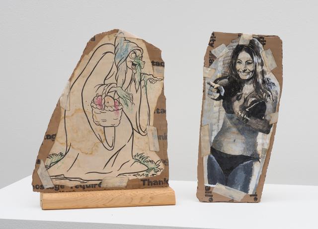 Kristen Morgin, 'The Wicked Queen Points at Sophia Lauren', 2017, Marc Selwyn Fine Art