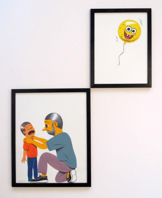 , 'WAAAAAAHHHH!,' 2014, Jonathan LeVine Projects