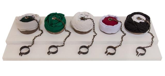 , 'Vitrine,' 2015, Hafez Gallery