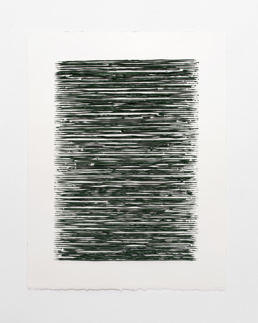 , 'Color structure #08 (olive green deep),' 2019, Anne Mosseri-Marlio Galerie