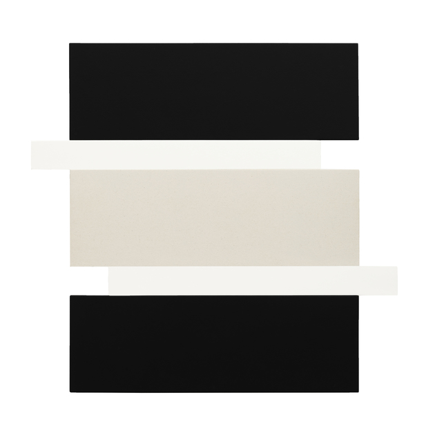 , 'Stack - Black, White, Canvas,' 2016, Peter Blake Gallery