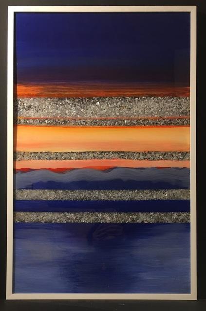 Arica Hilton, 'Multiverse Sunset', 2017, Mixed Media, Acrylic on acrylic with recycled plastic, Hilton Asmus
