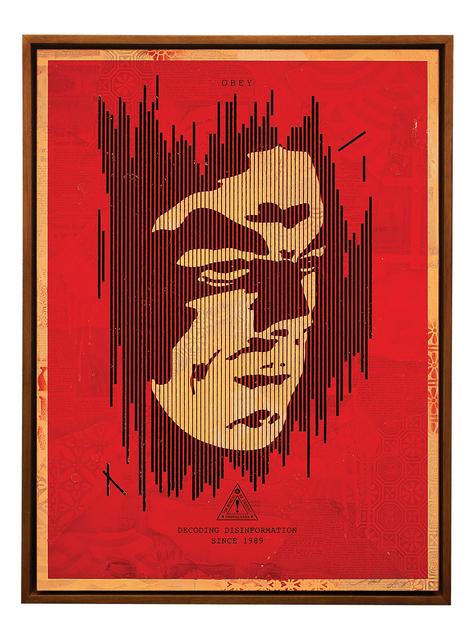 , 'Decoding Disinformation (Red),' 2015, Treason Gallery