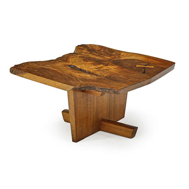 George Nakashima, 'Fine Side Table, New Hope, PA', 1975, Rago/Wright