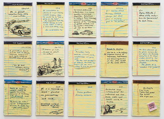 , 'Doctor's Notes,' 2004, Rosamund Felsen Gallery