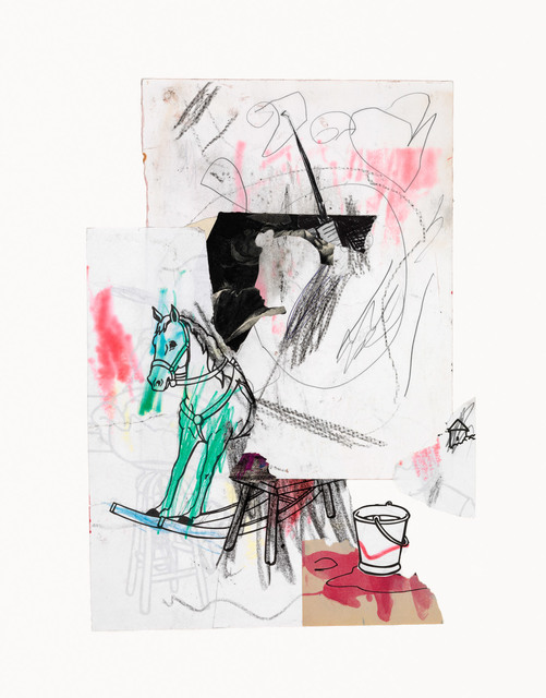, 'Rocking Horse 10/14/15,' 2015, Miller Yezerski Gallery