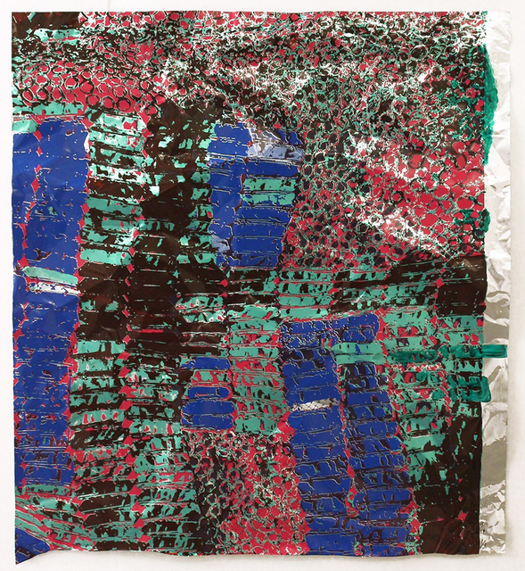 El Anatsui, 'Untitled (with Green) ', 2015, Zane Bennett Contemporary Art