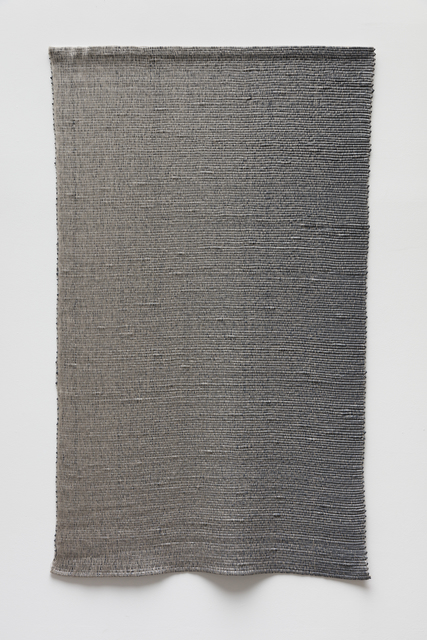Analia Saban, 'Woven Vertical Linear Gradient as Weft (Left to Right, Gray)', 2019, Arario Gallery