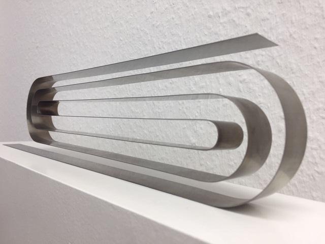 , 'Band, zweiarmig zum Labyrinth gewunden,' 2014, Sebastian Fath Contemporary