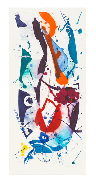 Sam Francis, 'The Five Continents in Summertime', 1984, Print, Aquatint, Christopher-Clark Fine Art
