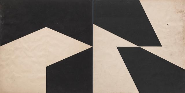 , ' Planos em Superfície Modulada,' 1957, Dan Galeria