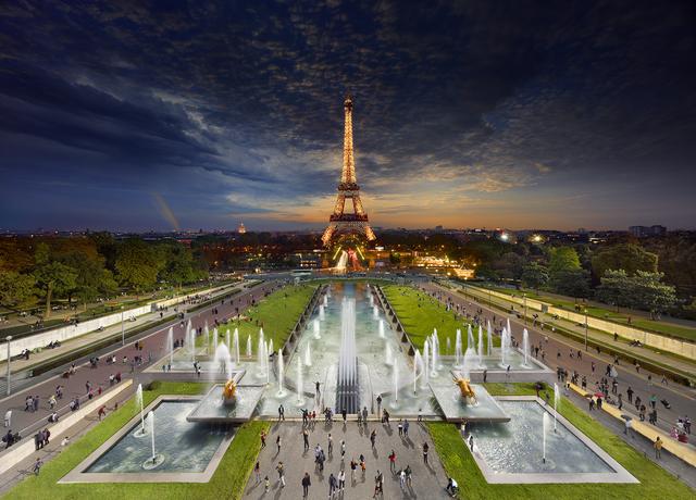 Stephen Wilkes, 'Eiffel Tower, Paris', 2013, Bryce Wolkowitz Gallery