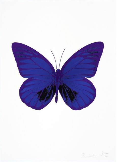 , 'The Souls I - Westminster Blue - Raven Black - Imperial Purple,' 2010, Samuel Owen Gallery