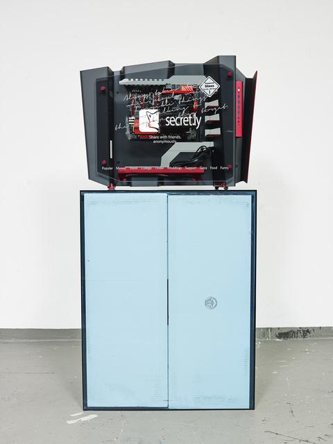 , 'Startup Case Mod: Secret,' 2014, Petzel Gallery