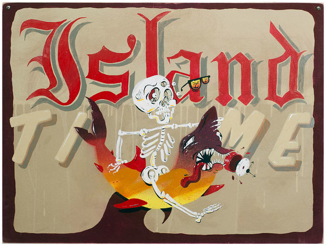 , 'Island Time Skulley Surf Time,' , Black Book Gallery
