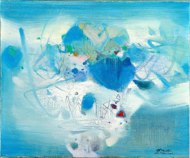 , 'Composition Bleue 天光水色,' 1980, Nou Gallery