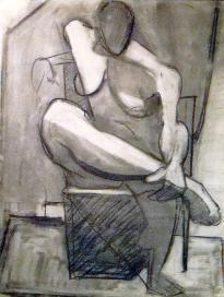 , 'Nude Study from Life,' 1937, Mark Borghi Fine Art