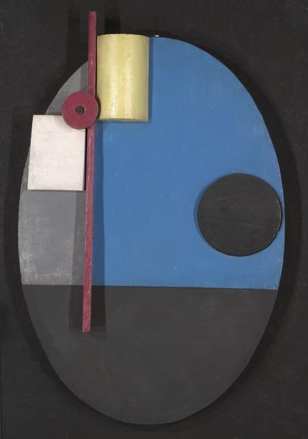 Kurt Schwitters, 'Oval Construction', 1925, Yale University Art Gallery