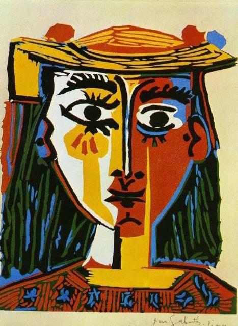 Pablo Picasso, 'Femme Au Chapeau Buste', 1962, Kings Wood Art
