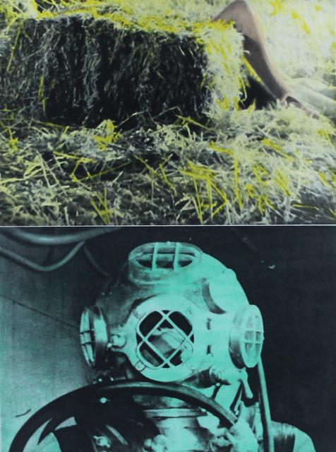 John Baldessari, 'Leg, Straw, Diver', 1986, Kenneth A. Friedman & Co.