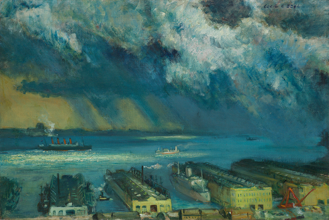 , 'Passing Shower,' 1945, Questroyal Fine Art