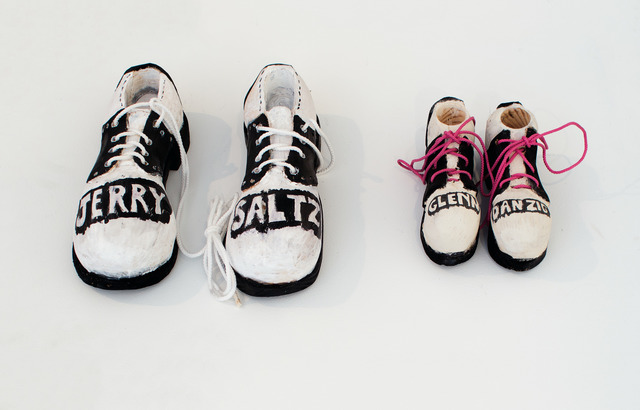 , 'Jerry Saltz and Glenn Danzig's Childhood Shoes,' 2017, ADA Gallery