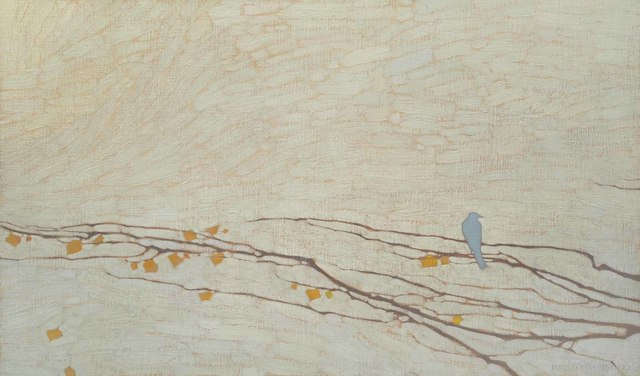 , 'Blue Bird and Branch Patterns,' 2018, Jonathan Cooper