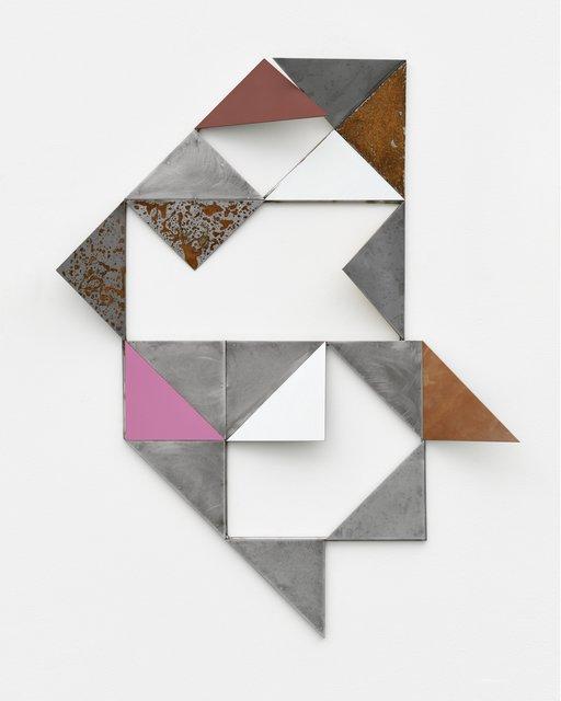 Henrik Eiben, ' Re Run Home', 2015, Sculpture, Stainless steel, iron, lacquer, spray paint, rust, PABLO´S BIRTHDAY