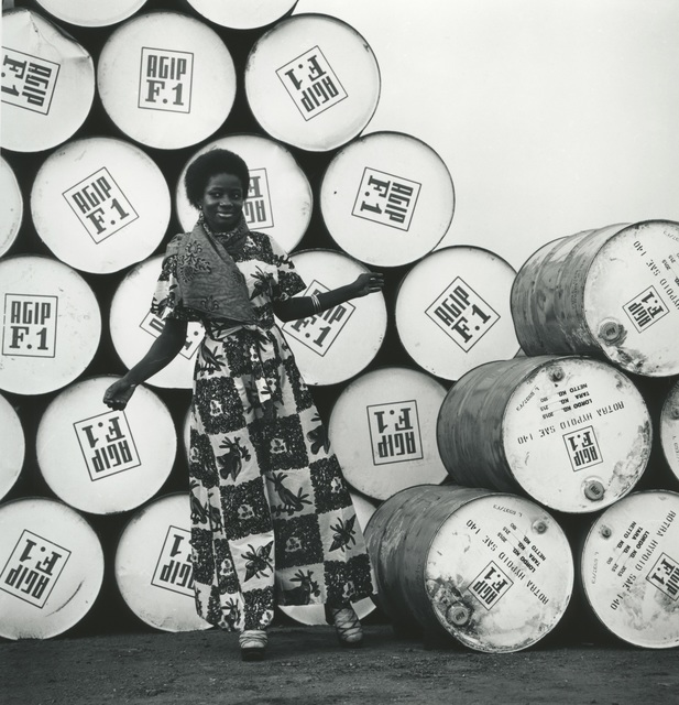 , 'Accra, 1974 , model for the AFIP F1 calendar ,' 2017, Galerie Clémentine de la Féronnière