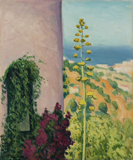 Albert Marquet, 'Aloes fleuri', 1944, HELENE BAILLY GALLERY