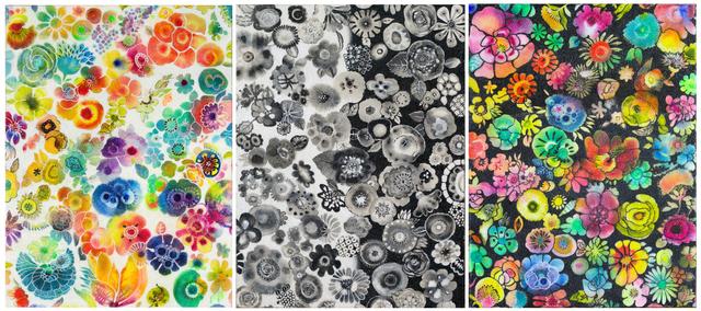 , 'Prism I, II, III,' 2017, Basic Space Gallery