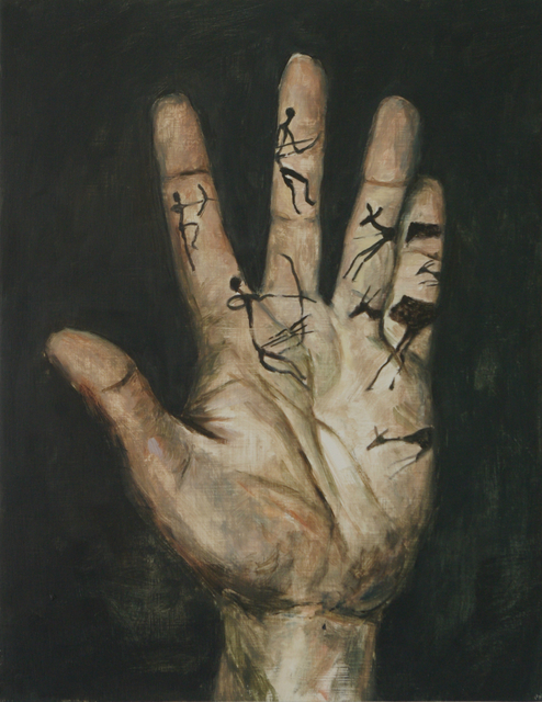, 'La main de lascaux,' 2014, Jeanine Hofland