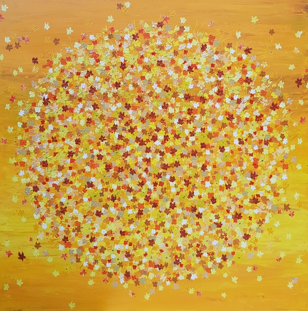 , 'Army of Flowers Yellow,' 2019, Gallery ART & LEF